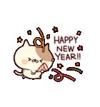 ぶちネコさん~正月&冬~(個別スタンプ:01)