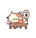 ぶちネコさん~正月&冬~(個別スタンプ:27)