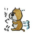 憂鬱な犬(個別スタンプ:08)