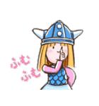小さなバイキングビッケ(個別スタンプ:01)