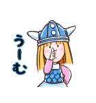 小さなバイキングビッケ(個別スタンプ:02)