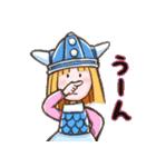 小さなバイキングビッケ(個別スタンプ:03)
