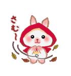 冬だよ☆うさっぴ(個別スタンプ:03)