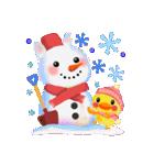冬だよ☆うさっぴ(個別スタンプ:28)