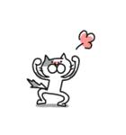 猫のグリース(個別スタンプ:13)