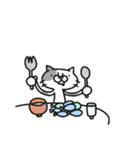 猫のグリース(個別スタンプ:30)