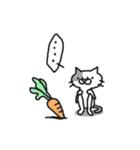 猫のグリース(個別スタンプ:31)