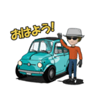 めっちゃ!キュートな車(個別スタンプ:22)