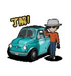 めっちゃ!キュートな車(個別スタンプ:35)