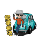 めっちゃ!キュートな車(個別スタンプ:36)