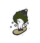 アフロマン! ~冬~(個別スタンプ:01)
