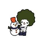 アフロマン! ~冬~(個別スタンプ:02)