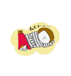 博多弁のボーダー女子(個別スタンプ:39)