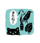 かわいい動物達(影絵風)2(個別スタンプ:6)