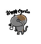ふぐすま猫田さん3【標準語でおべっか編】(個別スタンプ:35)
