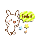うさ☆すた(ウサギのスタンプ)(個別スタンプ:18)