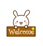 うさ☆すた(ウサギのスタンプ)(個別スタンプ:36)