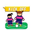 女子サッカースタンプ(試合速報)(個別スタンプ:1)