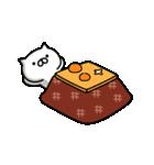ネコすけの冬&正月(個別スタンプ:10)
