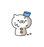 ネコすけの冬&正月(個別スタンプ:37)