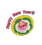 年末年始・胃っちゃん(個別スタンプ:37)