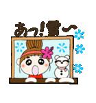 ハワイアンガールおちゃめの冬2(個別スタンプ:35)