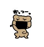 オラオラックマ(個別スタンプ:02)