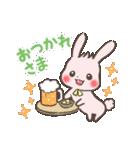 ゆるゆるウサギ「チェルシー&チェリー」(個別スタンプ:06)
