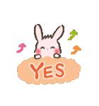 ゆるゆるウサギ「チェルシー&チェリー」(個別スタンプ:20)