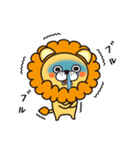 冬に便利なネコライオン(個別スタンプ:4)