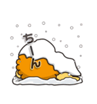 冬に便利なネコライオン(個別スタンプ:6)