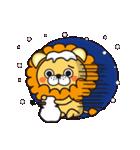 冬に便利なネコライオン(個別スタンプ:7)