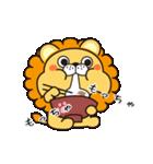 冬に便利なネコライオン(個別スタンプ:36)