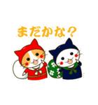 泥棒ねこ&サンタねこ(個別スタンプ:06)