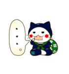 泥棒ねこ&サンタねこ(個別スタンプ:18)