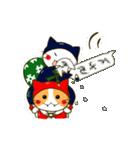 泥棒ねこ&サンタねこ(個別スタンプ:31)
