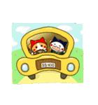 泥棒ねこ&サンタねこ(個別スタンプ:34)