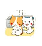 泥棒ねこ&サンタねこ(個別スタンプ:36)