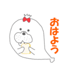 ★冬のあざらし~クリスマス・年末年始~★(個別スタンプ:09)