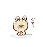 【お正月と冬】ゆるーいくまさん(個別スタンプ:34)
