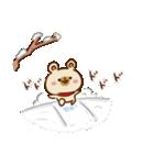 【お正月と冬】ゆるーいくまさん(個別スタンプ:35)