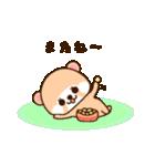 アライグマのぷーにゃん・冬編(個別スタンプ:03)