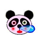 吹き出し・居眠りパンダ4(個別スタンプ:14)