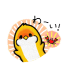 とろぴかるバード ななちゃん2(個別スタンプ:03)