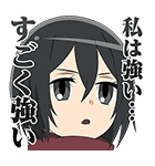 進撃!巨人中学校(個別スタンプ:08)