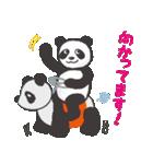 greeting_panda(個別スタンプ:6)