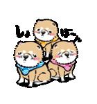 江戸っ仔犬 赤毛三兄弟(個別スタンプ:04)
