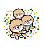 江戸っ仔犬 赤毛三兄弟(個別スタンプ:18)