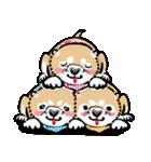 江戸っ仔犬 赤毛三兄弟(個別スタンプ:21)
