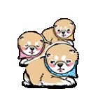 江戸っ仔犬 赤毛三兄弟(個別スタンプ:28)